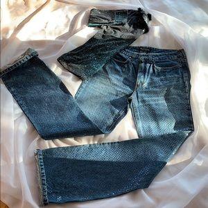 Vintage Roberto Cavalli Blue Jean